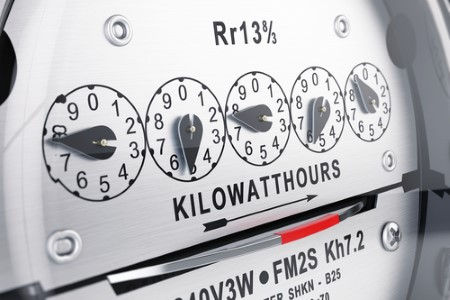 Electric power meter a good read